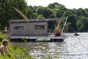 Une maison sur l'eau avec Aquashell