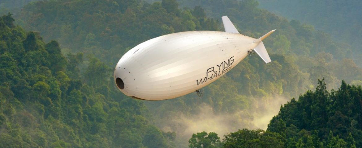 Dirigeable Flying Whales Zeppelin Aircraf