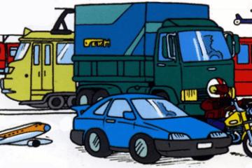 moyens de transport pour aller au travail